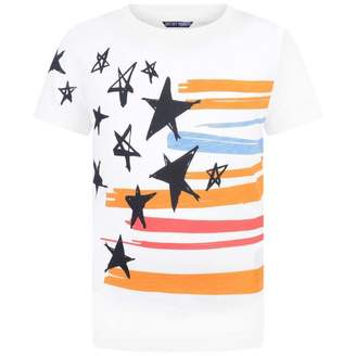 Antony Morato Antony MoratoBoys White Stars & Stripes Top