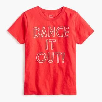 """J.Crew """"Dance it out"""" T-shirt"""