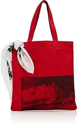 Calvin Klein Men's Canvas Tote Bag - Red