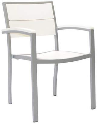 Janus et Cie Koko Armchair - White/Silver