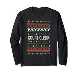 Court Clerk Ugly Christmas Sweater