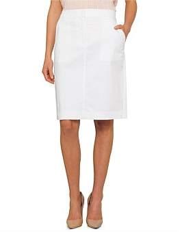 David Jones Sateen Skirt