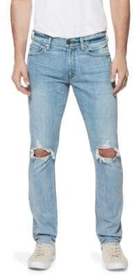 Paige Lennox Modern Slim-Fit Distressed Jeans