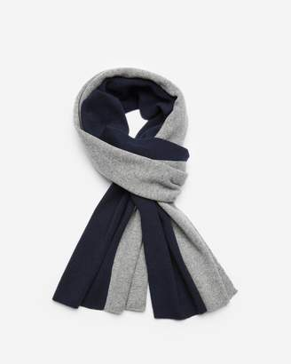 Theory Color-Blocked Cashmere Scarf