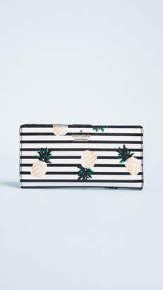 Kate Spade Cameron Street Pineapples Stacy Wallet