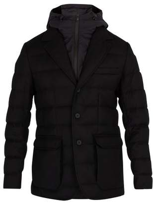 Moncler - Vernoux Quilted Down Blazer - Mens - Black