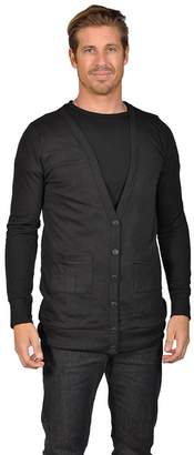 Naif Men's Shawl Collar Cardigan Sweater