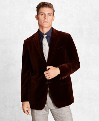 Brooks Brothers Golden Fleece Velvet Twill Sport Coat