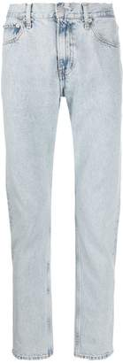 Calvin Klein Jeans slim bleached jeans
