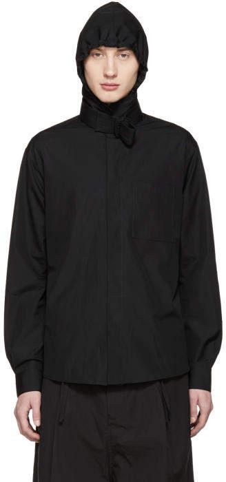 Craig Green Black Hooded Shirt Jacket