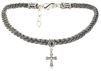 Emanuele Bicocchi cross braided choker