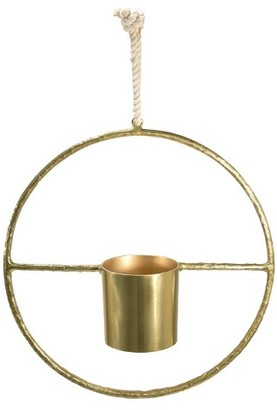 Threshold Round Hanging Planter - Small