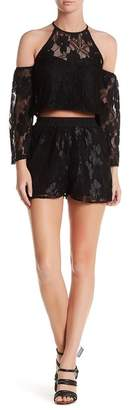 Lucca Couture Lace Short $49 thestylecure.com