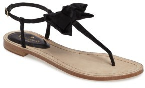 Women's Kate Spade New York Serrano Bow Sandal $138 thestylecure.com