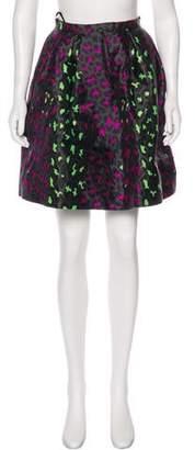 Christopher Kane Silk Knee-Length Skirt w/ Tags