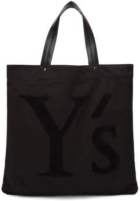 Y's Ys Black Logo Tote