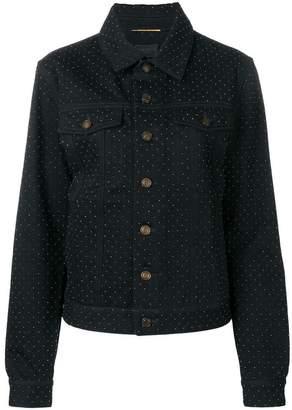 Saint Laurent boyfriend denim jacket