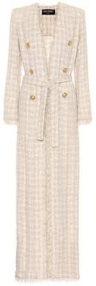 Balmain Tweed maxi cardigan