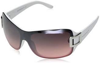 Southpole Women's 1019sp Whpk Non-polarized Iridium Shield Sunglasses