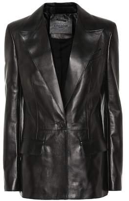 Givenchy Leather blazer