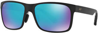 Maui Jim Polarized Red Sands Sunglasses, 432 Blue Hawaii Collection