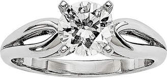 MODERN BRIDE 3/4 CT. Diamond 14K White Gold Solitaire Ring