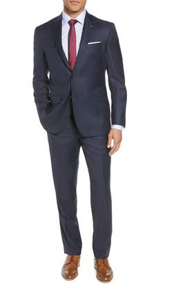 Ted Baker Jones Trim Fit Solid Wool Suit