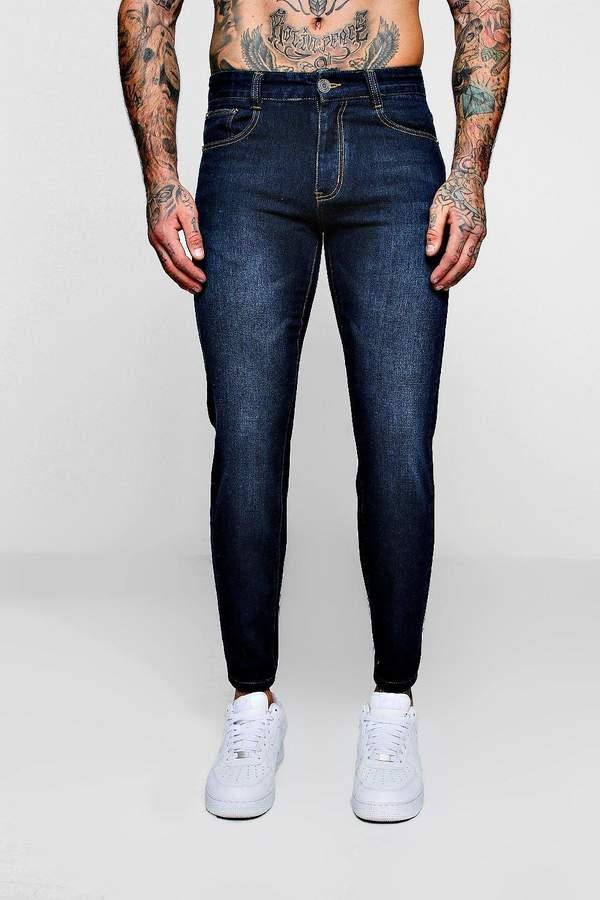 Slim Fit Denim Jeans In Navy