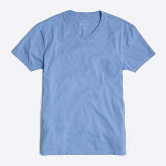 J.Crew Factory J.Crew Mercantile heathered Broken-in V-neck T-shirt