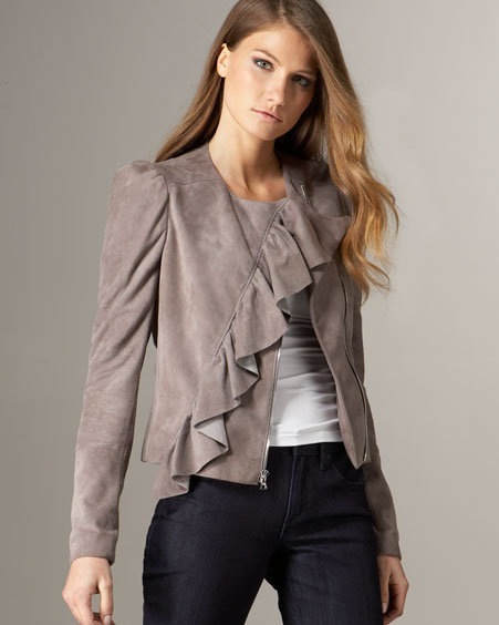 Rebecca Taylor Suede New Wave Jacket