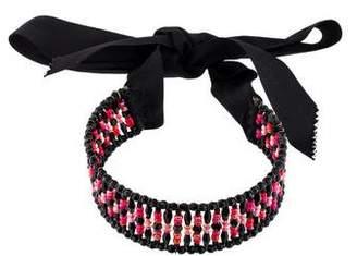 Erickson Beamon Crystal Choker Necklace