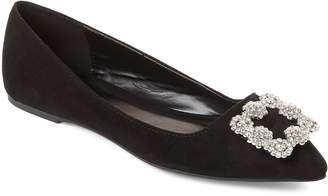 Pippa Wild Diva Lounge Black Pointed Toe Flats