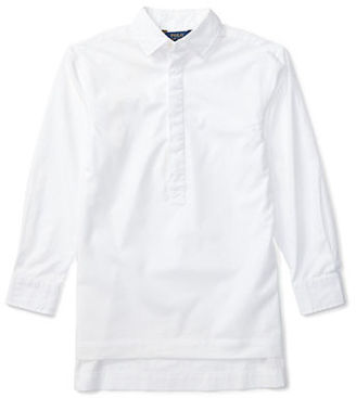 Ralph Lauren Childrenswear Girls 7-16 Solid Tunic Top $49.50 thestylecure.com