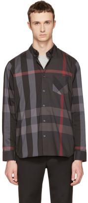 Burberry Grey Check Thornaby Shirt $295 thestylecure.com