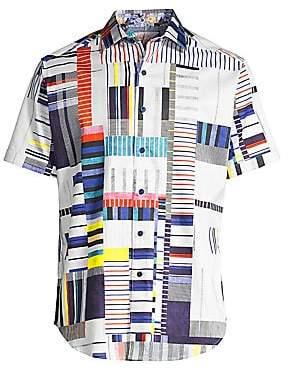 Robert Graham Men's Tofu Stretch Cotton Shirt