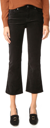 7 For All Mankind Cropped Boyfriend Pants $179 thestylecure.com