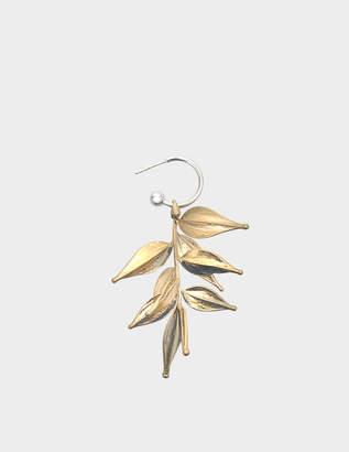 Proenza Schouler Short Leaf Mono Earring