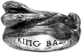 King Baby Studio - Bone Ring Ring $400 thestylecure.com