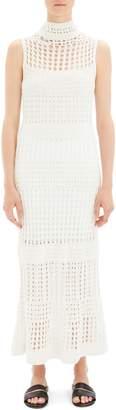 Theory Mixed Knit Maxi Dress