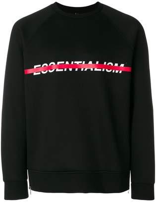 Neil Barrett Essentialism sweatshirt