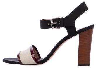 Celine Leather High Heel Sandals