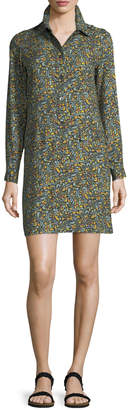 A.P.C. Nicole Floral-Print Shirtdress