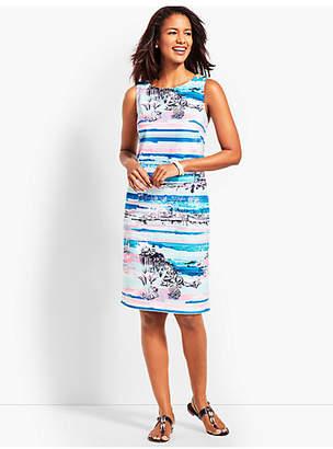 Talbots Seaside Harbor Sheath Dress