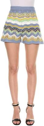 M Missoni Crochet Shorts From