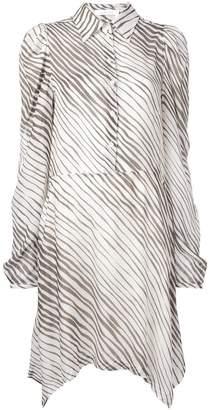 See by Chloe striped shirt dress