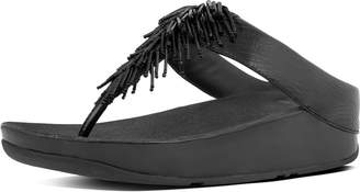 FitFlop Cha Cha Leather Toe-Thongs