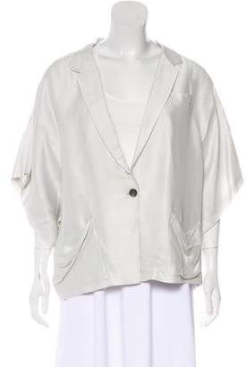 Elizabeth and James Oversize Short Sleeve Blazer