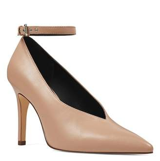 Nine West Ziesta Leather Ankle Strap Pump
