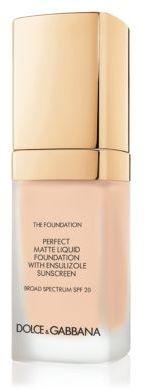 Dolce & Gabbana Matte Liquid Foundation/1 oz.