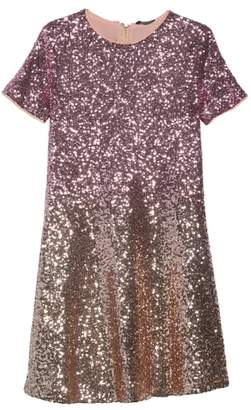 Marciano Ombre Sequin Skater Dress